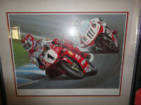Limited Edition print of Carl Foggarty