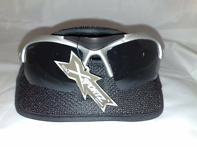 XSPORTZ MEN SUNGLASSES NEW GAFAS DEL SOL SPORT +CASE