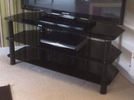 Serano Glass TV Stand
