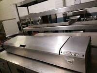commercial williams topping fridge pizza fridge catering equipment