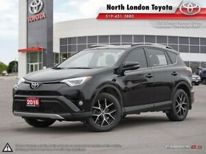 2016 Toyota RAV4 SE Well equipped with features and loads of...