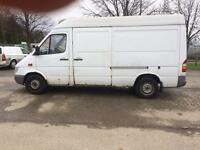 2002 Mercedes sprinter fridge/freezer van