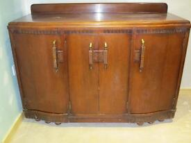 Antique sideboard made in Scotland