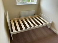 SHORTY Single Bed +++ Matching Under-Bed Drawers!