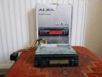 Alba,ICS 103,in car CD radio with AUX port car stereo