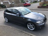 BMW 120d M Sport Grey 5dr