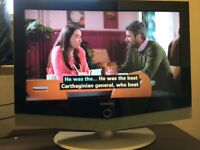 Samsung 26 Inch HD LCD TV Built in Digital Freeview, working order