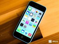 iPhone 5c 8gb mint condition open to all networks