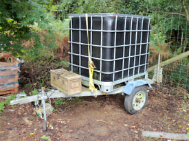 Trailer and water tank