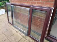 Double glazed window