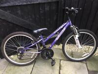 Girls Apollo xc24 mountain bike