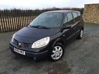 2006 56 RENAULT GRAND SCENIC 1.6 EXPRESSION *7 SEATER* FAMILY M.P.V - NOVEMBER 2017 M.O.T!