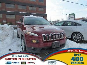 2016 Jeep Cherokee North | ONE OWNER | SAT RADIO | 4X4