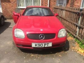 Mercedes Benz Slk 230 kompressor 1997 Spares or repairs- Private plate included