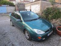 Ford Focus Diesel TDDi Mk1 Met Green - Repair or Spares.