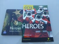 Heroes by Robert Cormier Book and York GCSE revision notes
