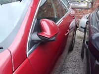 VAUXHALL INSIGNIA PASSENGERS SIDE WING MIRROR 2009 2010 2011 2012 USED