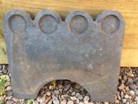 Reclaimed Staffordshire Blue Garden Edgers