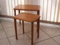 Two Teak Tables