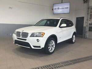 2013 BMW X3 xDrive28i Toit ouvrant panoramique