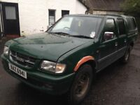 Wanted 4x4 pickup any make, any condition (L200, navara, rodeo, brava, isuzu, ranger)