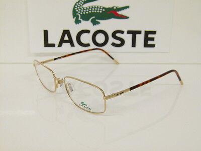 Originale Brille LACOSTE Metallbrille LA 12038 GD 54