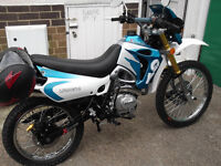 Lifan GY200 Adventure/Trail motorcycle.