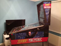 Johnny Mnemonic Arcade Pinball Machine