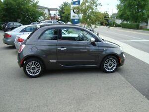 2014 Fiat 500C LOUNGE DECAPOTABLE PLAN OR 4 ANS 115000KM