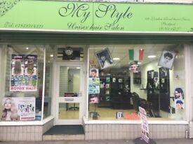 Ladies and Gents Hair and beauty salon for sale (REF:MAZ0023)