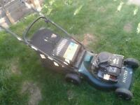 Hayter mower with briggs and stratton