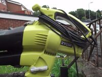 ryobi leaf blower / collector , hardly used good condition , collection only
