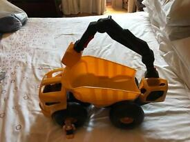 Little tikes dirt digger dump truck with moving scoop arm