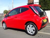 64 Plate Red Toyota Aygo vvt-i x - Play ; Zero Road Tax!!! Practically New!!!