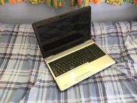 Toshiba Satellite L500-1cq laptop notebook (intel duo core, webcam, hdmi, 250gb, 3gb ram)