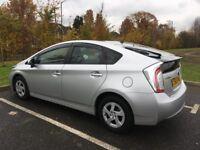 63 Plate Toyota Prius MOT 2018 SAT NAV Bluetooth Aux Usb 27K Milg Key less Entry Finance P/X Welcome