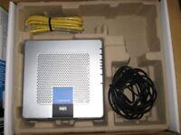 Linksys WGKPC354G-UK wireless-G ADSL gateway kit for notebooks, spares or repair