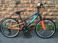 Factory SOILED NEW EX Display Falcon Neutron Boys 24 Inch FS Mountain Bike RRP £265
