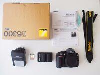 Nikon D5300 Camera + Accessories