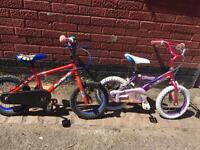 Children bike 25 pounds each