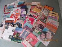 SHEET MUSIC & ALBUMS FOR PIANO