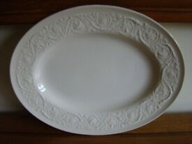 Large Wedgwood Patrician Oval Serving Plate Good Condition
