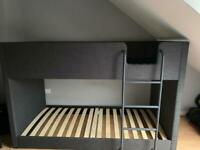 Fabric bunk bed