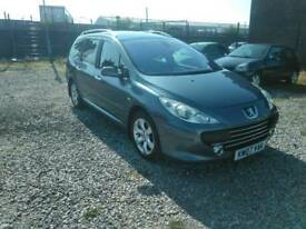 2007 Peugeot 307 1.6 petrol suprb condition mot january 2019
