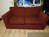 2 Seater Sofa Red Colour £30
