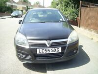 VAUXHALL ASTRA DESIGN TWIN PORT 1.6 S-A AUTOMATIC 2005 £750. ONO