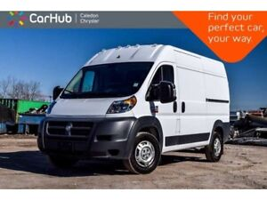 2018 Ram Promaster 2500 High Roof 159 WB Only 28KM Backup Cam Bl