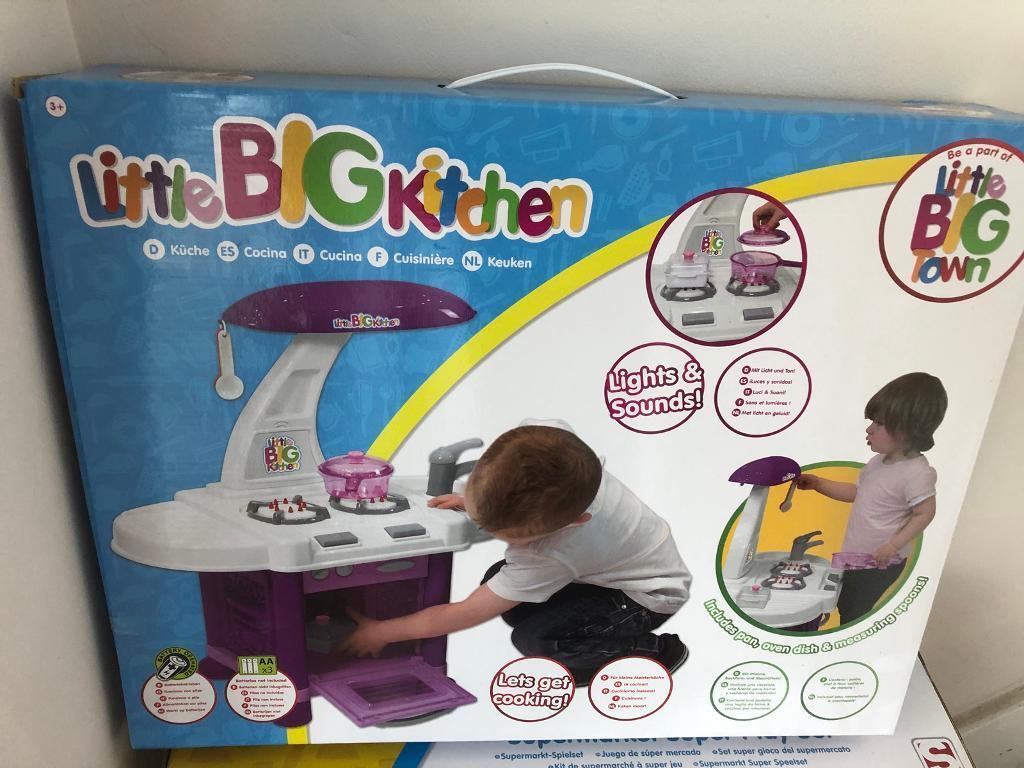 Children\'s Little Big Kitchen 3+ Brand New Unopened | in Shenfield ...