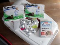 front line flea treatment and wormer tabs. OR JOB LOT FOR EVERYTHING IN ADD+MORE