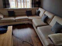 Large fabric 5 Seater corner Sofa 300cm x 300cm (10ft x 10ft)